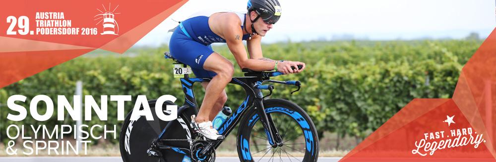 Austria Triathlon Podersdorf // Sonntag // Sprint und Olympische Distanz